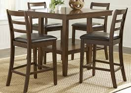 40 X 40 Dining Table Bradshaw 5 Piece Counter Height Dining Set By Liberty Home