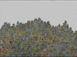 urban forest u0027sketch city drawing city city drawing youtube