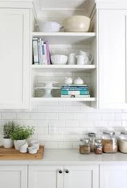 open shelving cabinets kitchen open shelving the best inspiration tips the inspired room