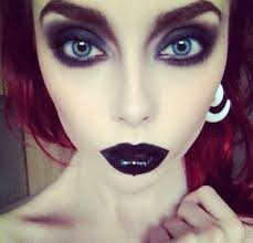 tips extreme goth makeup x