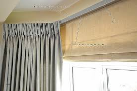 Curtains For Ceiling Tracks Window Curtain Bay Window Curtain Tracks Bay
