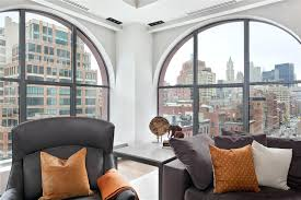 new york 2 bedroom loft apartment living room ny 10117 photoloft