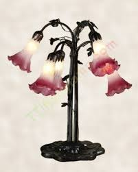 Flower Table Lamp Lily Tiffany Table Lamp Foter