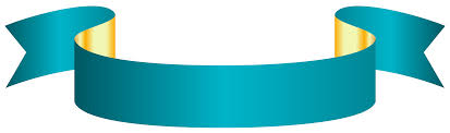 teal ribbons blue banner transparent png clip image gallery yopriceville