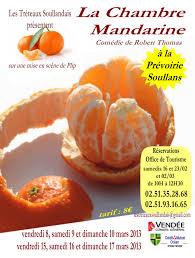 la chambre mandarine les tréteaux soullandais