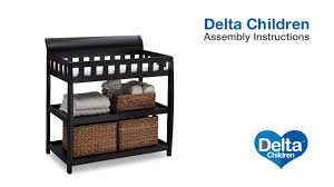 Delta Changing Table Delta Children Bentley Changing Table Assembly