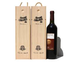 gift packaging for wine bottles wine box 1 bottle wine wine gift box customization winery