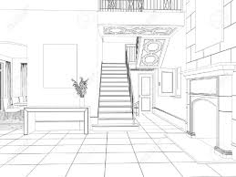 Home Design App Stairs by Dining Room Room Sketch Sketch Of Room Interior Design With