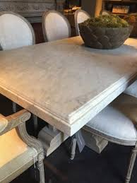 restoration hardware marble table coffee tables simple dark brown rectangle farmhouse wooden
