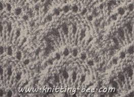 fan stitch knitting pattern 2 knitting bee