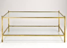 brass and glass end tables brass and glass coffee tables italian table for design 4