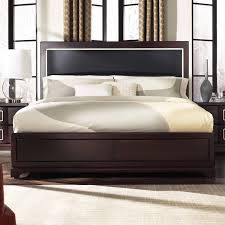 Wood Panel Bed Frame by Casana Brooke Upholstered Panel Bed Hayneedle