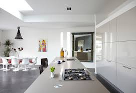 Kitchen Design In Small House Apartment Cozy White Modern Kitchen Apartment In Small Space