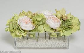 Polyester Flowers - which fake flowers aren u0027t naff daily mail online
