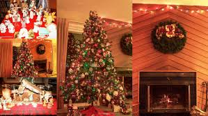 christmas decor pictures of homes decorations ideas home idolza