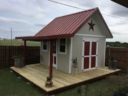 bobby u0027s 12 12 shed with porch