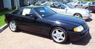 1999 black mercedes 1999 mercedes sl500 black
