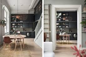 Ab Home Interiors Mörkt Kök Innerstadsspecialisten Ab Inredning Pinterest