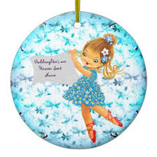 goddaughter christmas ornaments a goddaughter poem christmas design metal ornament zazzle