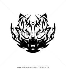 tribal wolf stock images royalty free images vectors