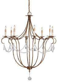 Currey And Company Lighting Crystal Light Chandelier Currey And Company