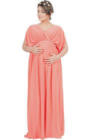 freeda elegant diamante grecian long baby shower maxi dress