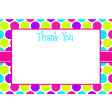 sweet shop printable thank you cards