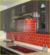 Red Tile Backsplash - red backsplash tile lovely crystal glass tile red puzzle mosaic