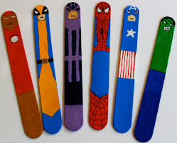 life on the go with nola superhero bookmarks super heroes