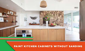 painting kitchen cabinets using deglosser how to paint kitchen cabinets without sanding 7 important