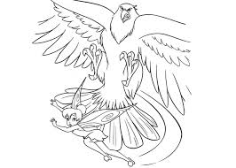 attacks tinkerbell coloring pages