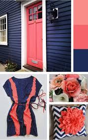 love these inspiration pics blue and coral bedrooms color schemes