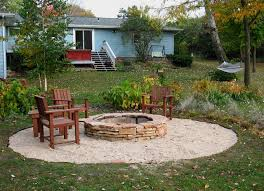 Building A Firepit In Backyard Most Interesting Backyard Pit Ideas Landscaping Diy