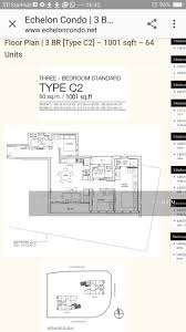 echelon 7 alexandra view 3 bedrooms 1001 sqft condominiums
