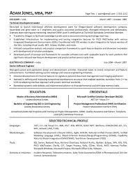 T Sql Resume Software Developer Resume Software Developer Resume Fails