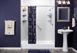 simple bathroom shower full size bathroom captivating simple design highlighting dark purple walls paints scheme and white low