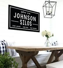 farmhouse decor target last name wall decor medium size of wall business name ideas