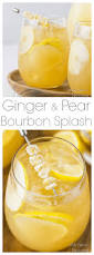 bourbon thanksgiving cocktail ginger u0026 pear bourbon cocktail no spoon necessary