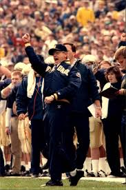 Lou Holtz Memes - lot detail 1988 lou holtz notre dame fighting irish tsn