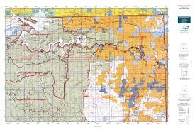 Blm Maps Utah by North Slope Three Corners Map Mytopo