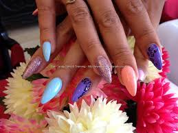 eye candy nails u0026 training stiletto nails with different