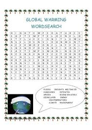 Global Warming Worksheet Global Warming Worksheet Worksheets