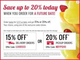 edible fruits coupon banners coupon best business template