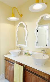 wave lighting bathroom beach style with lake house hamptons style