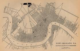 New Orleans On Us Map by Louisiana Maps Map Collection Ut