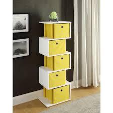 mega home 3 tier round white decorative etagere shelf rvjw107awh