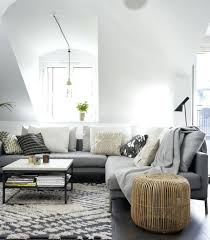 deco canapé gris salon canape gris deco salon moderne canapac gris fauteuil gris pouf