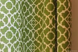 Moroccan Print Curtains Annie Sloan Chalk Paint Project Petticoat Junktion