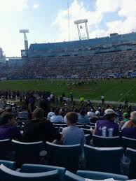 Everbank Field Map Everbank Field Section 132 Home Of Jacksonville Jaguars