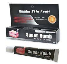 numbing cream tattoo supplies ebay